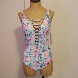 """Lilly Pulitzer """"Sea to Shining Sea"""" Swimsuit"""